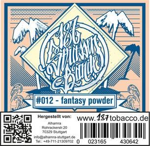 187 Strassenbande Tabak - Fantasy Powder 200g