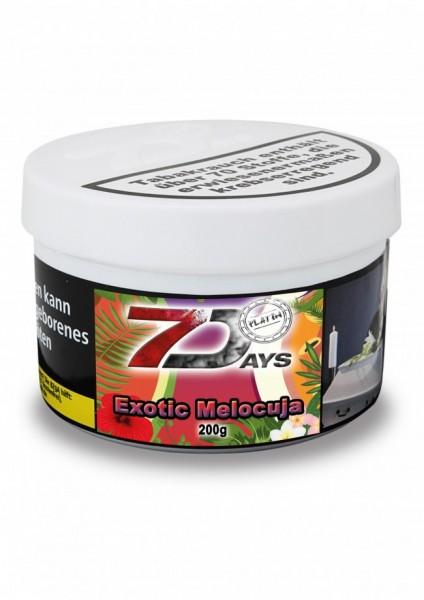 7 Days Platin Tabak - Exotic Melocuja 200g