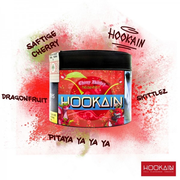 Hookain Shisha Tabak - Ch3rry Zkittlez 200g