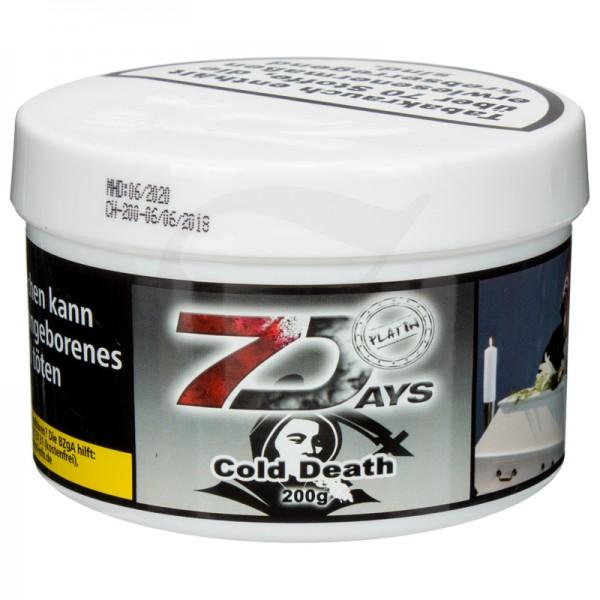 7 Days Platin Tabak - Cold Death 200g