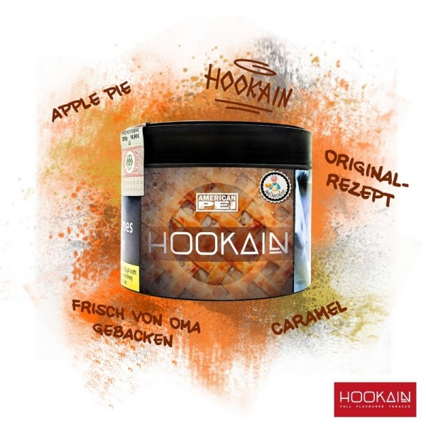 Hookain Shisha Tabak - American Pei 200g
