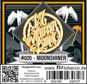187 Strassenbande Tabak - Moonshiner 200g