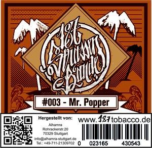 187 Strassenbande Tabak - Mr. Popper 200g