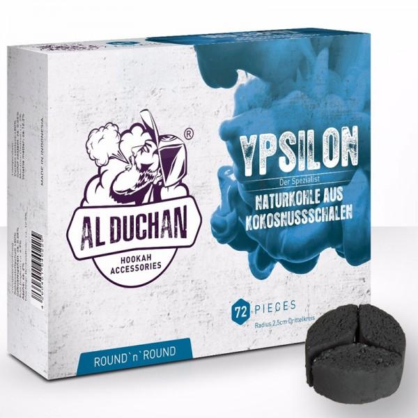 Al Duchan Kohle Ypsilon 1kg Drittelform (für Kaminaufsätze)