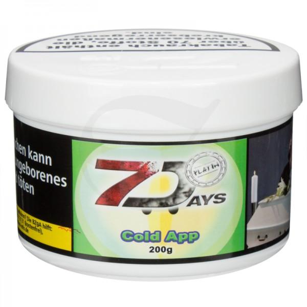 7 Days Platin Tabak - Cold App 200g