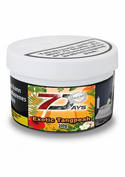 7 Days Platin Tabak - Exotic Tangpeah 200g